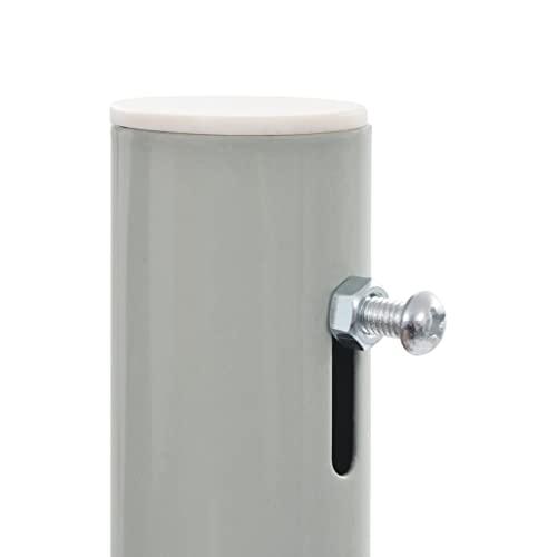 vidaXL Seitenmarkise 160×300 cm Grau - 4