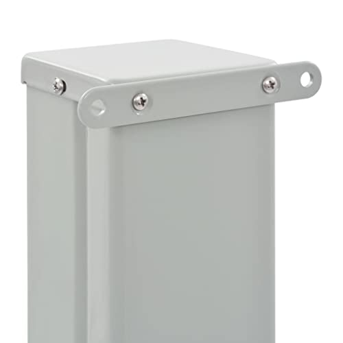 vidaXL Seitenmarkise 160×300 cm Grau - 5