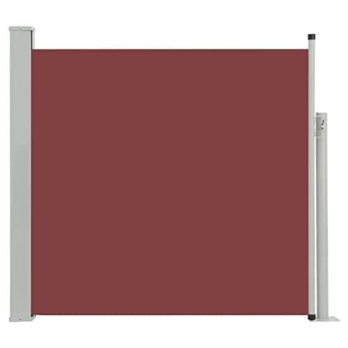vidaXL Seitenmarkise 170x300 cm Braun