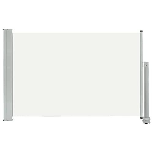 vidaXL Seitenmarkise 60x300 cm Creme