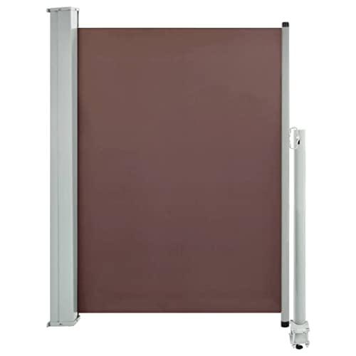 vidaXL Seitenmarkise100x300 cm Braun