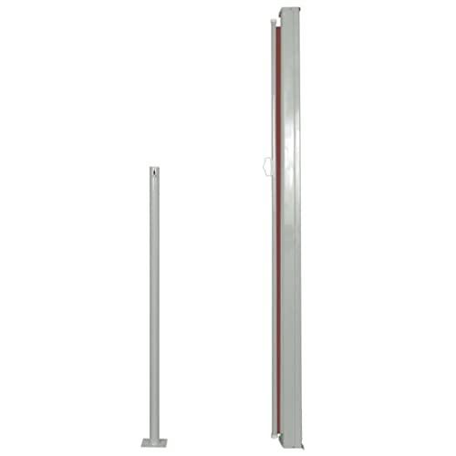vidaXL Seitenmarkise 160×300 cm Braun - 6