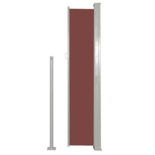 vidaXL Seitenmarkise 160×300 cm Braun - 5