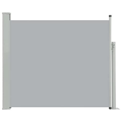 vidaXL Seitenmarkise 100x300 cm Grau