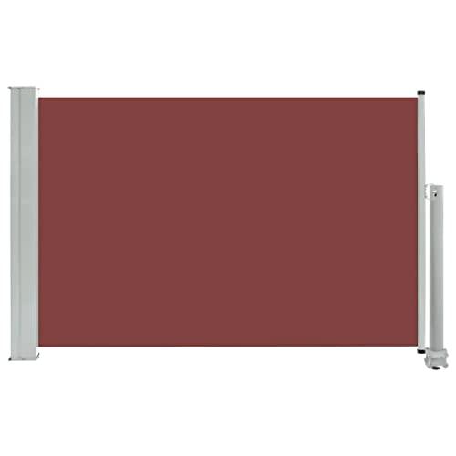 vidaXL Seitenmarkise 60x300 cm Braun