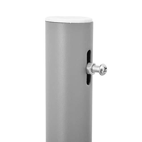 vidaXL Doppel-Seitenmarkise 160×600 cm Grau - 3
