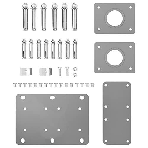 vidaXL Doppel-Seitenmarkise 160×600 cm Grau - 7