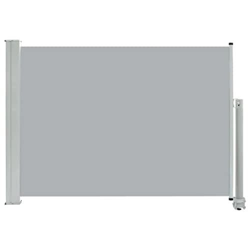 vidaXL Seitenmarkise 80x300 cm Grau