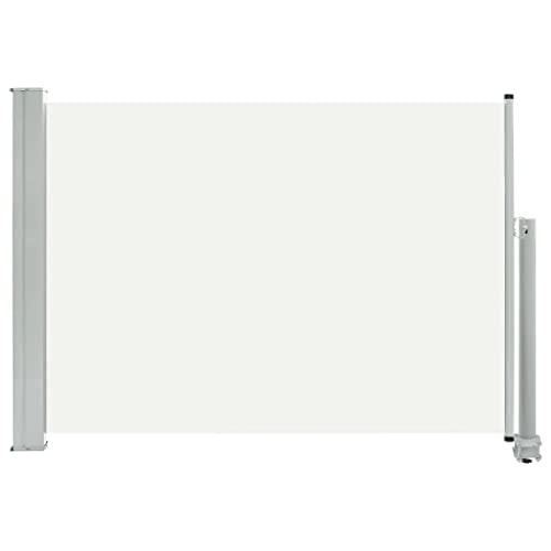 vidaXL Seitenmarkise 80x300 cm Creme