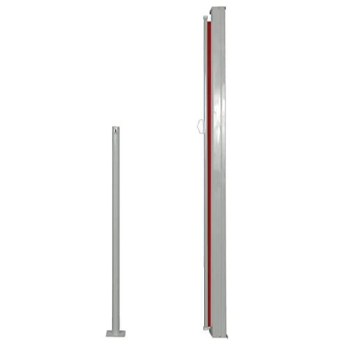 vidaXL Seitenmarkise 160×500 cm Rot - 3