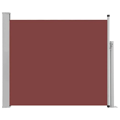 vidaXL Seitenmarkise 100x500 cm Grau