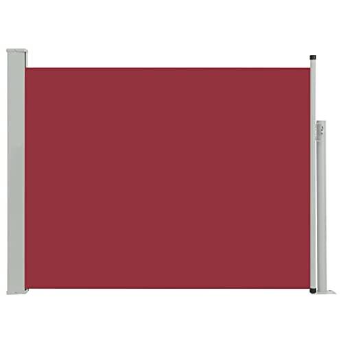 vidaXL Seitenmarkise 170x500 cm Rot
