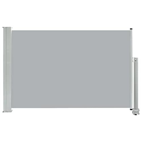 vidaXL Seitenmarkise 60x300 cm Grau