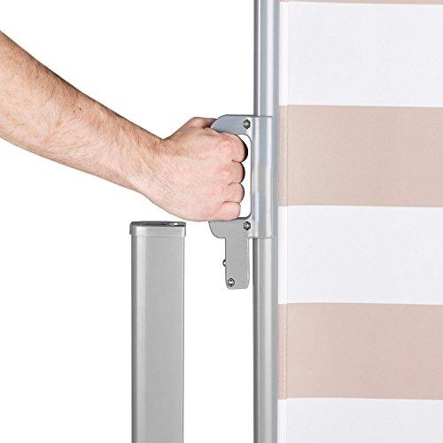 Blumfeldt Bari 318 Seitenmarkise 300 x 180cm creme-weiß - 4
