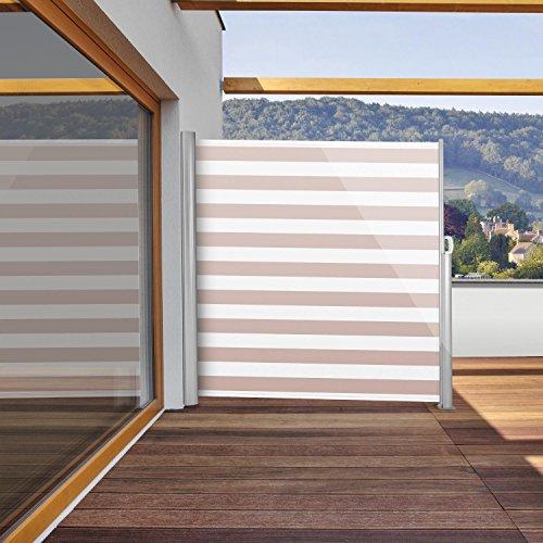Blumfeldt Bari 318 Seitenmarkise 300 x 180cm creme-weiß - 2