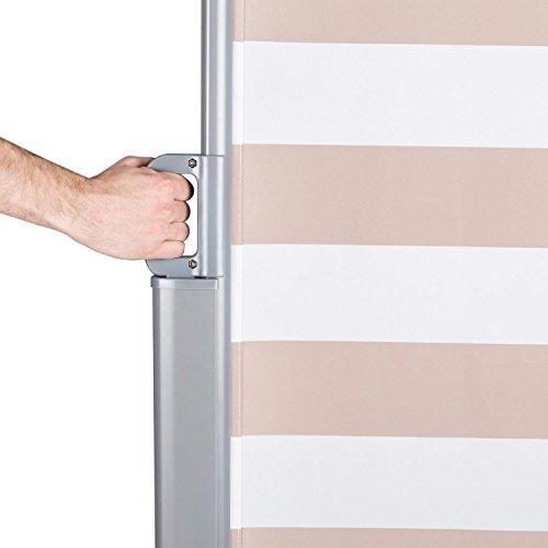 Blumfeldt Bari 318 Seitenmarkise 300 x 180cm creme-weiß - 5