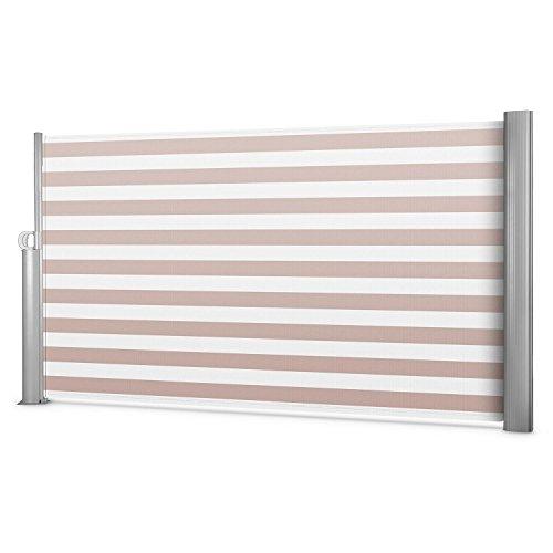 Blumfeldt Bari 318 Seitenmarkise 300 x 180cm creme-weiß - 9