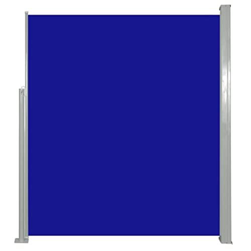 vidaXL Seitenmarkise 160x500 cm Blau