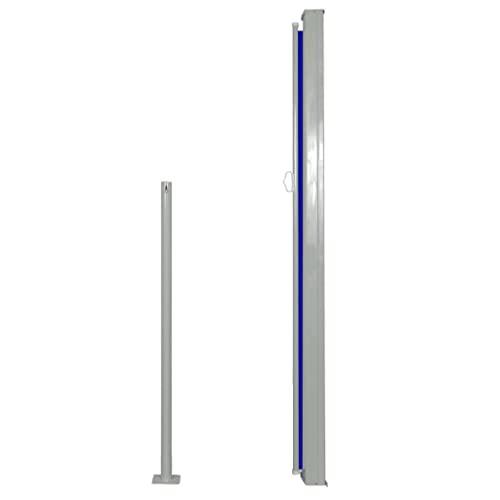 vidaXL Seitenmarkise 160×500 cm Blau - 3