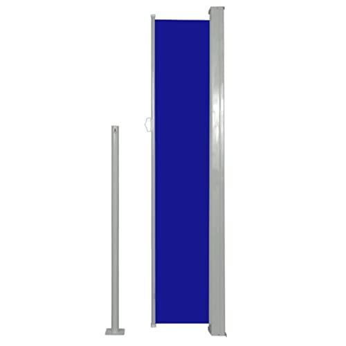 vidaXL Seitenmarkise 160×500 cm Blau - 4
