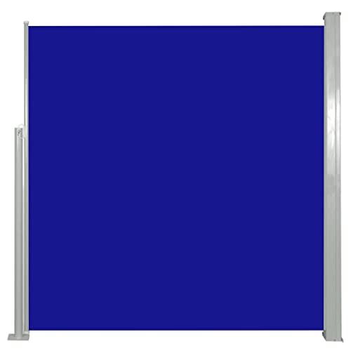 vidaXL Seitenmarkise 140x300 cm Blau