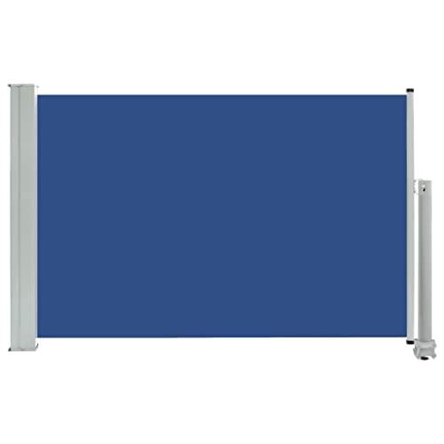 vidaXL Seitenmarkise 60x300 cm Blau
