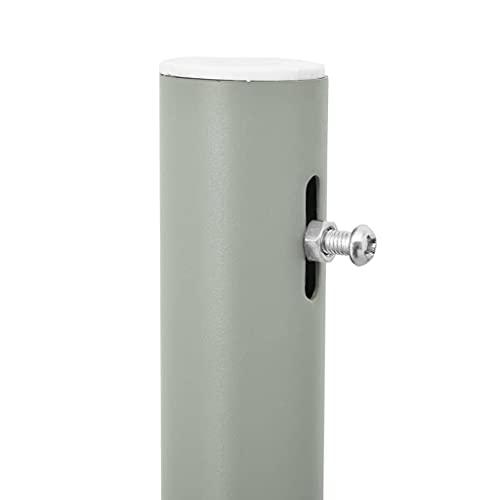 vidaXL Seitenmarkise 120×500 cm Blau - 4