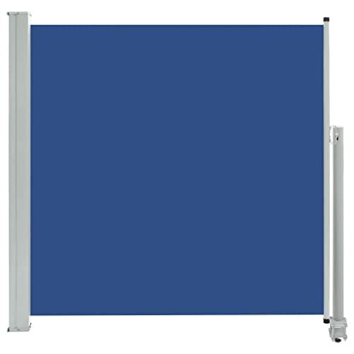 vidaXL Seitenmarkise 160x300 cm Blau