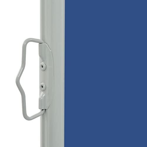 vidaXL Seitenmarkise 160×300 cm Blau - 3