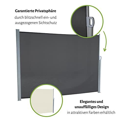 empasa Seitenmarkise 160×300 cm braun - 4