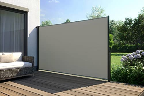 empasa Seitenmarkise Start 180x300 cm grau