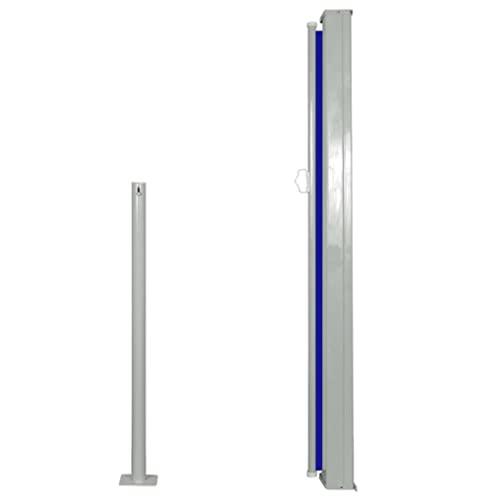 vidaXL Seitenmarkise 120x300cm Blau Sichtschutz Windschutz Sonnenschutz Balkon - 3