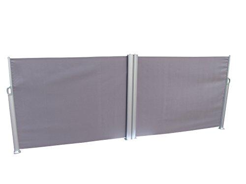 Leco Doppel-Seitenmarkise, anthrazit - 2