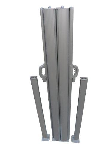 Leco Doppel-Seitenmarkise, anthrazit - 3