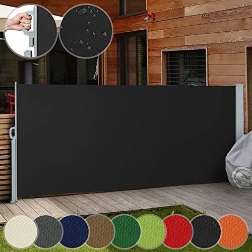 Jago Seitenmarkise 300 x 160 cm schwarz