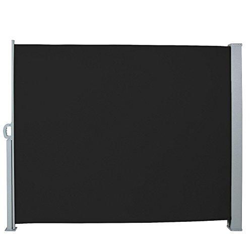 Jago Seitenmarkise 300 x 160 cm schwarz - 2