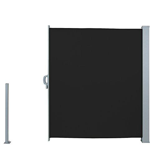 Jago Seitenmarkise 300 x 160 cm schwarz - 3