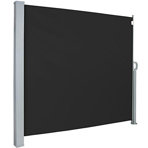Jago Seitenmarkise 300 x 160 cm schwarz - 8
