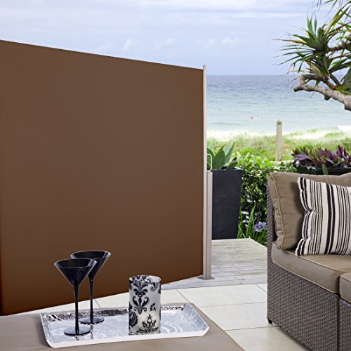 Ultranatura Seitenmarkise Maui – 300 x 180 cm, Braun - 7