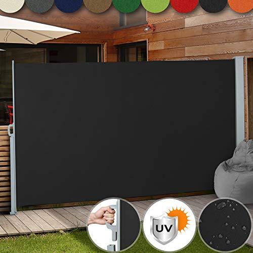 Jago Seitenmarkise 300 x 200 m schwarz