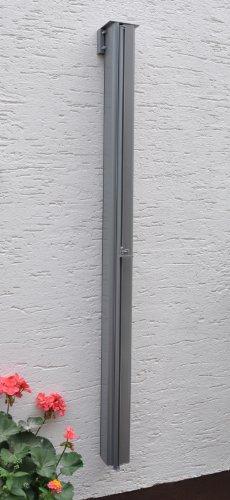 Leco Balkonmarkise 120 x 200 cm, anthrazit - 4