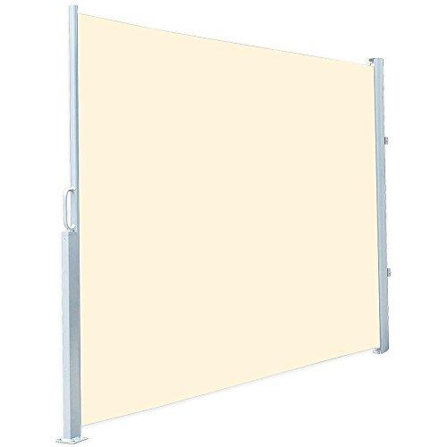 Royal Gardineer Seitenmarkise 120 x 200 cm beige