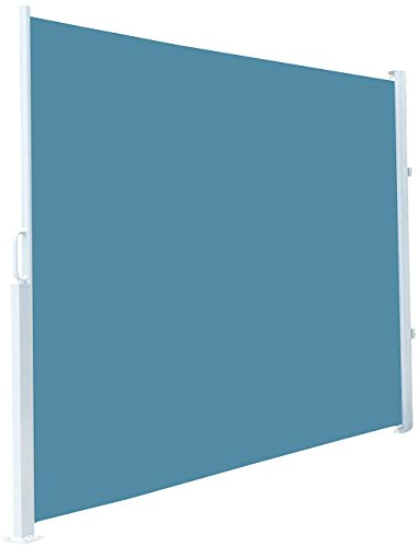 Royal Gardineer Seitenmarkise 120 x 200 cm blau