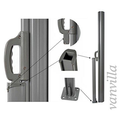 Vanvilla Seitenmarkise Beige 200×300 cm - 2