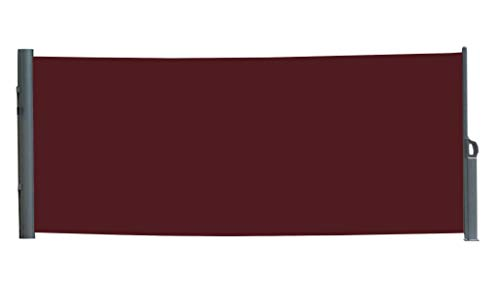 Vanvilla Seitenmarkise Bordeaux 200x300 cm