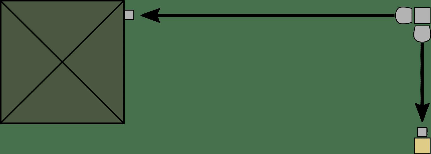 Seitenmarkise Eck-Lösung - Montage Doppelmarkise doppelt