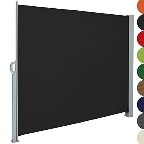jago seitenmarkise 300 x 200 m schwarz. Black Bedroom Furniture Sets. Home Design Ideas