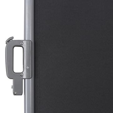 Songmics Doppel Seitenmarkise 180 x 600 cm TÜV SÜD zertifiziert verdickter Polyester 280 g/m² GSA360G - 7