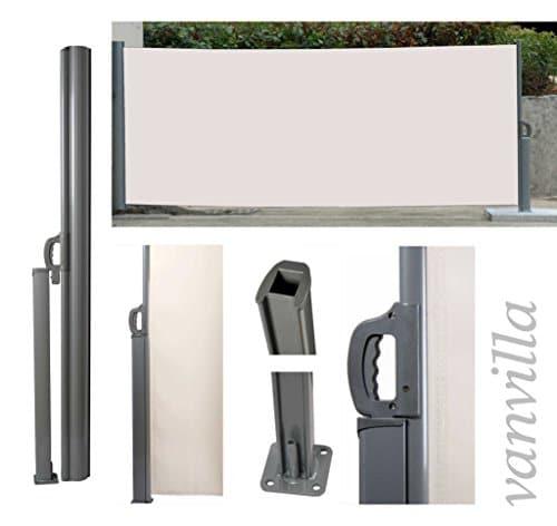 vanvilla seitenmarkise sichtschutz sonnenschutz windschutz. Black Bedroom Furniture Sets. Home Design Ideas