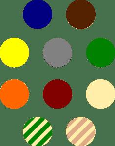 Farbauswahl von Ultranatura Maui Seitenmarkisen